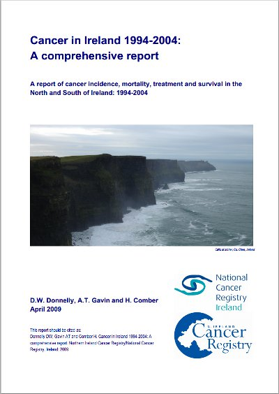 Cancer in Ireland 1994-2004