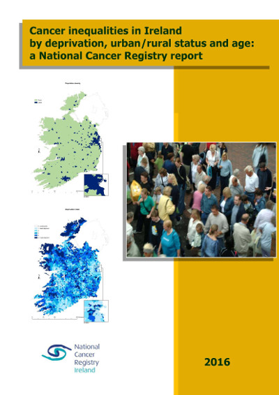 Cover of the Cancer Inequalities Report