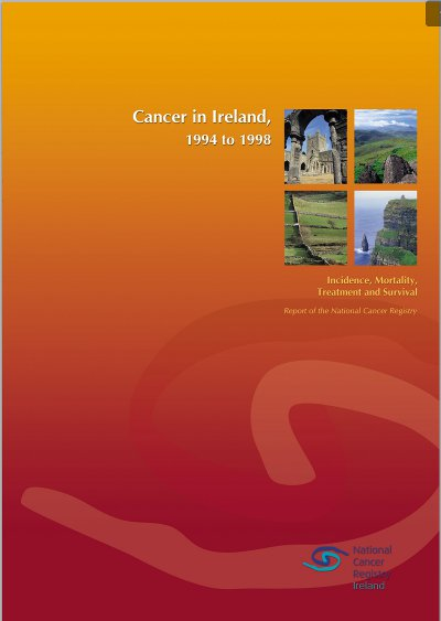 Cancer in Ireland 1994 to 1998