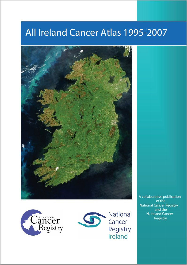 All Ireland cancer atlas 1995-2007