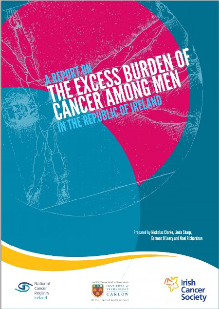 Report on the excess burden of cancer among men in the Republic of Ireland