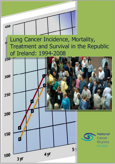 Lung cancer in Ireland 1994-2008