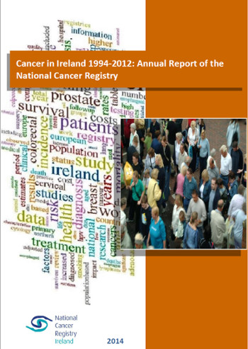 Cancer in Ireland 1994-2012