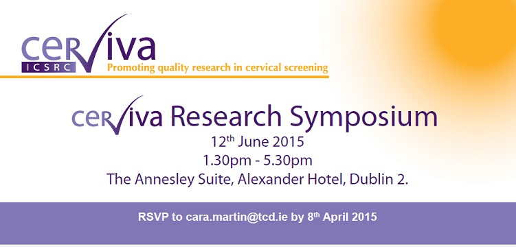 CERVIVA research symposium on the 12th June, Dublin | National Cancer Registry Ireland