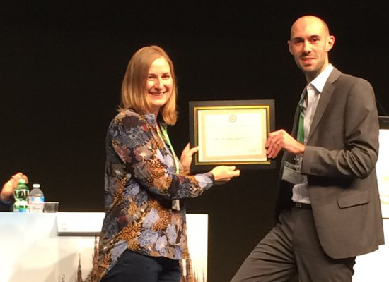 Dr Alison Pearce, health economist at the Registry, wins prestigious conference award | National Cancer Registry Ireland