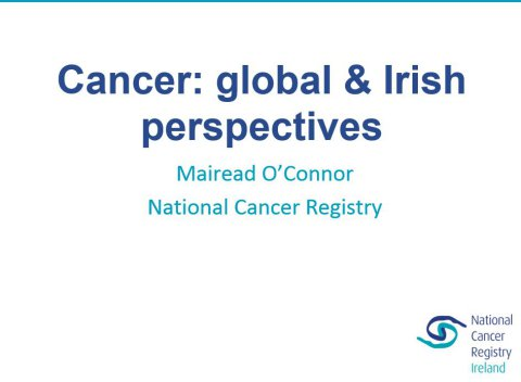 Image for Cancer: global & Irish perspectives