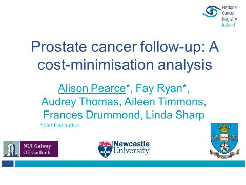 Image for Comparing the costs of three prostate cancer follow-up strategies: A cost-minimisation analysis (iHEA)
