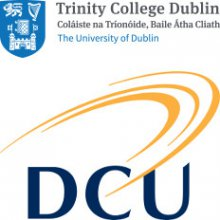 Logos of Trinity and DCU