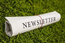 Newsletter image of a newspaper