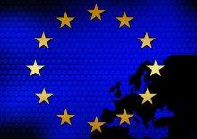 Flag of Europe - ENCR meeting
