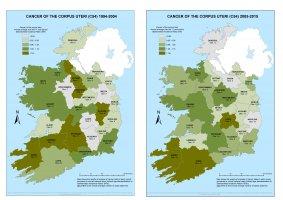Corpus uteri 1994-2004 & 2005-2015 annual average