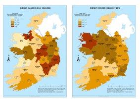 Kidney 1994-2006 & 2007-2016 annual average