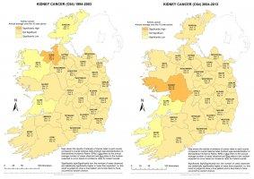 Kidney 1994-2003 & 2004-2013 annual average