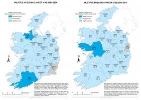 Multiple Myeloma 1994-2004 & 2005-2014 annual average