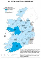 Multiple Myelome 1994-2014 annual average
