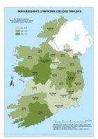 Non-Hodgkin's lymphoma 1994-2015 annual average