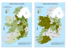 Thyroid 1994-2004 & 2005-2015 annual average