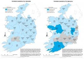 Thyroid 1994-2004 & 2005-2014 annual average