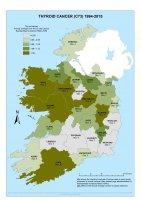 Thyroid 1994-2015 annual average